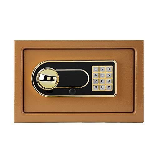 Ausla Elektronische Kluis, Elektronisch Digitaal Wachtwoord Beveiliging Veilig Anti-diefstal Box voor Home Office Sieraden Cash Deposit