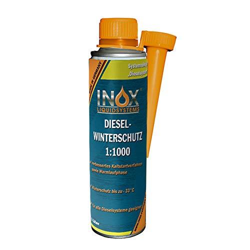 INOX® Diesel Winterschutz Additiv 1:1000, 1 Liter - Kraftstoffadditiv für Dieselmotoren