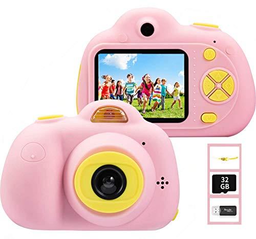 YunLone ToyZoom Fotocamera Bambini 18MP Selfie Macchina Fotocamera 1080P HD Digitale...