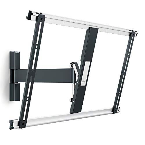 Vogel s thin 525, supporto da parete per TV da 40 - 65 pollici, inclinabile e girevole 120º, max 25 kg e fino a vesa 600x400, Nero, 40 - 65 , 120°