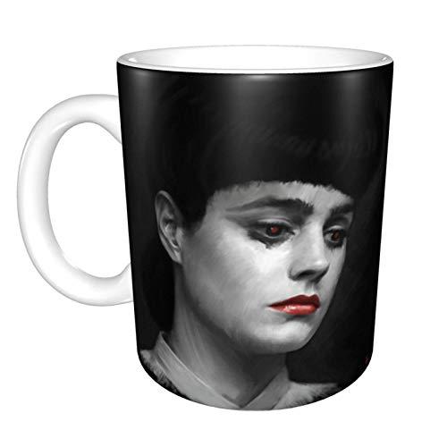 Hdadwy Rachel Blade Runner I Am The Business Home Taza de té de cerámica Taza de café de oficina 10 oz