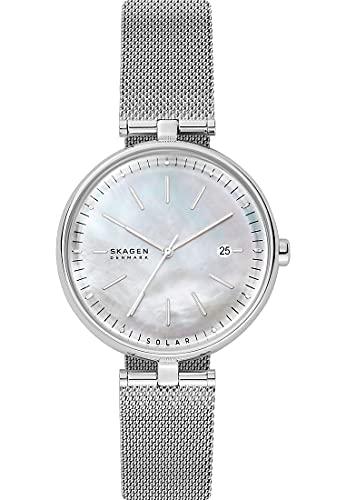 Skagen Karolina - Reloj solo tiempo para mujer, moderno, cód. SKW2979