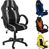 RACEMASTER Racing Bürostuhl Gaming Stuhl, Verschiedene Ausführungen, Gaslift SGS geprüft,...