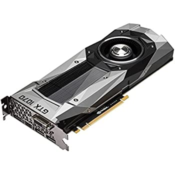 Nvidia GeForce GTX 1070 Founders Edition - 900-1G411-2520-001 (Renewed)