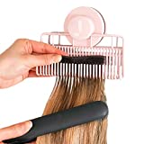 Evercaddy Joi Mate, Portable Holding Caddy that Stores Washes Styles and Secures 100% Human Hair Extensions - Works for Clip-ins Halos & Wefts