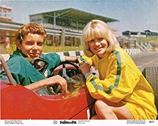 Prudence and The Pill Judy GEESON Original Lobby Card Racing CAR
