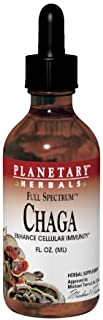 Planetary Herbals Chaga Liquid Full Spectrum, 1 Fluid Ounce