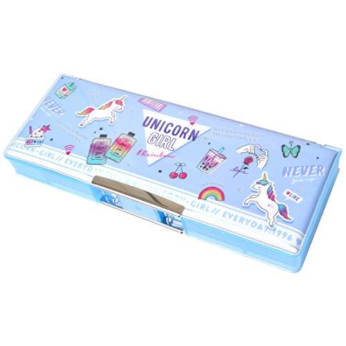 筆箱 小学生 女の子 可愛い おしゃれ 両面 ふでばこ 箱型 ペンケース 大容量 小学校 入学準備 文房具 人気 トレンド オルチャン 韓国 ファンシー 雑貨