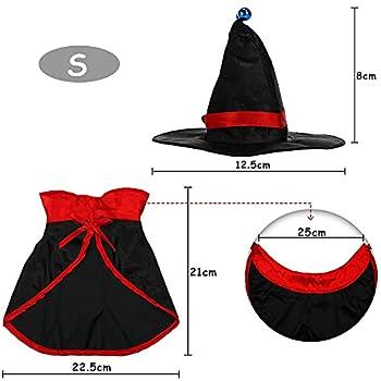 Costume de Chat pour Animaux de Compagnie, Costume d'halloween pour Animaux de Compagnie, Costumes Halloween Chien Chat, Cape de Vampire pour Animaux de Compagnie, Halloween Party Décoration