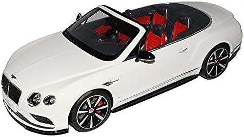 GT Spirit Bentley Continental GT V8 Cabrio Weißs ZM 046 1 18 Modell Auto mit individiuellem Wunschkennzeichen