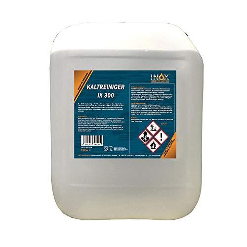 INOX® IX 300 Nettoyant à Froid pour Moteur, 5 litres - Concentré Contre Les huiles, Le Goudron et Les Graisses