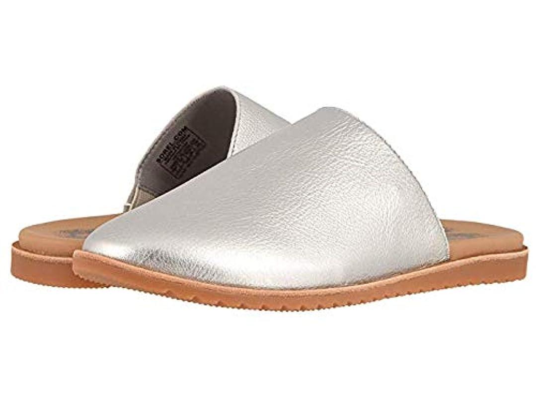 チャンバー苦難ペルメルレディースローファー?靴 Ella Mule Pure Silver 6.5 B - Medium [並行輸入品]