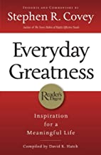 Ie: Everyday Greatness: Inspiration for a Meaningful Life by Stephen Covey (2010-10-01)