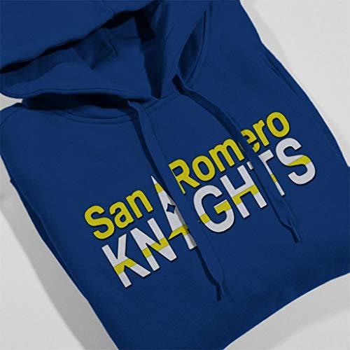 Cloud City 7 Lollipop Chainsaw San Romero Knights - Sudadera para Mujer Royal Blue M