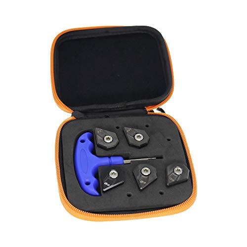 HISTAR Poids de golf pour driver Cobra F9 6 g/8 g/10 g/12 g/14 g + 1 clé + 1 étui
