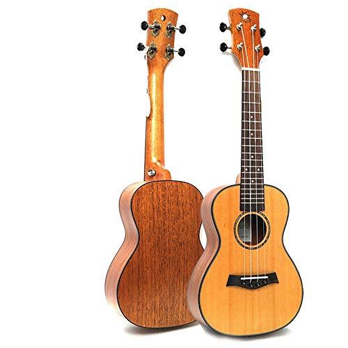 SUIWO Professional Concert Hawaiiaanse ukelele for beginners 23 inch ukulele ukulele uklele Hawaiian kleine gitaar Red Pine sparren perzik hart fineer