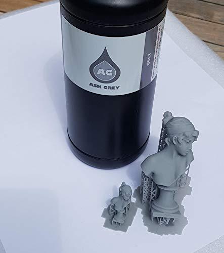 Funtodo DISCOVERY Ash.deep.TEK1960 – Harz für 3D-Drucker – Wanhao Duplicator 7, SLASH+, MOAI, B9CREATOR, PROJET1200, PHOTON + andere Drucker mit Wellenlänge zwischen 225 nm und 425 nm