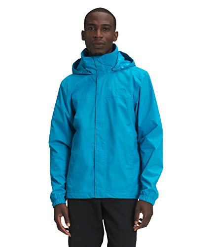 The North Face Men's Resolve Waterproof Jacket, Meridian Blue, L