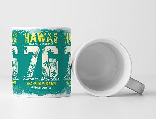 EAU ZONE Motiv Spruch Tasse Geschenk