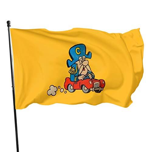 Bandera de Kart de Super Cap'n Crunch, 3 banderas de 5 pulgadas