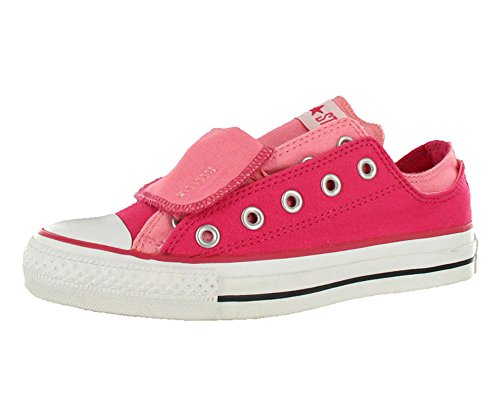 Converse Chuck Taylor Double Upper Oxford Red/White Canvas Fashion Sneaker - 7M 5M
