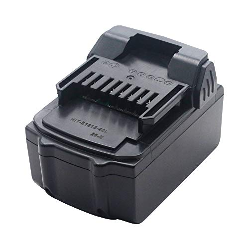 HSW 18V 4.0Ah Lithium-ion BSL1830 Replacement Battery for Hitachi BSL1830 BSL1840 DS18DSAL 330067 330068 330139 330557 Cordless Power Drill Tools Batteries(NOT FIT for BSL1815X)