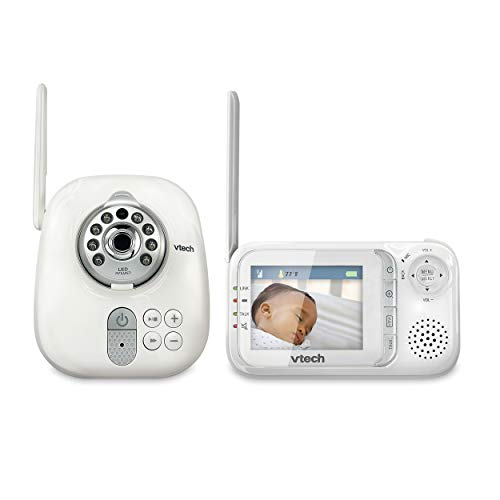 Product Image of the VTech VM321 Video Baby Monitor with Automatic Infrared Night Vision, Adjustable...