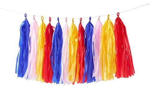 Meri Meri Multicolor Tassel Garland