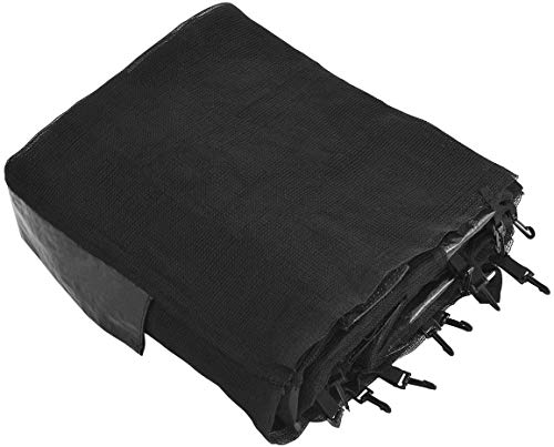 Giantex Trampoline Enclosure Net Only with Zipper & Buckle, Perfect Visibility and...