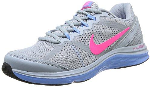 Nike 653594 002 Wmns Dual Fusion Run 3 Damen Sportschuhe - Running Mehrfarbig (Lt Mgnt Gry/Hypr Pnk-White-Unv) 40