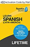 Rosetta Stone: Learn Spanish (Latin America) with Lifetime Access (Activation Code by Mail)