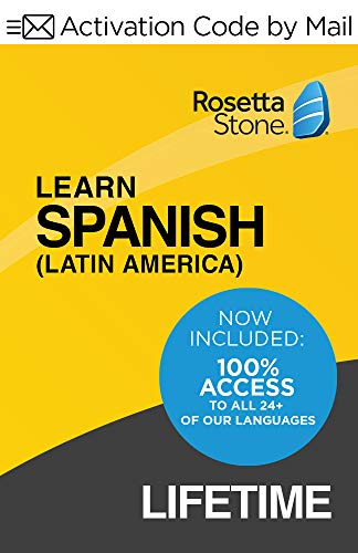 Rosetta Stone Learn Spanish (Latin America)| Lifetime Access| PC/Mac Keycard