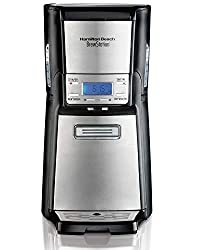 top 10 hamilton beach brewers Hamilton Beach (48465) 12 cup coffee machine and coffee pot with internal memory, …