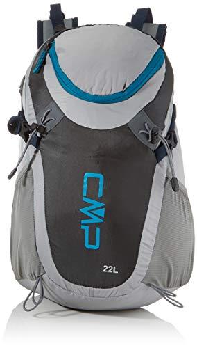 CMP Katana 20L Backpack, Zaino Unisex Adult, Cemento-Antracite, U