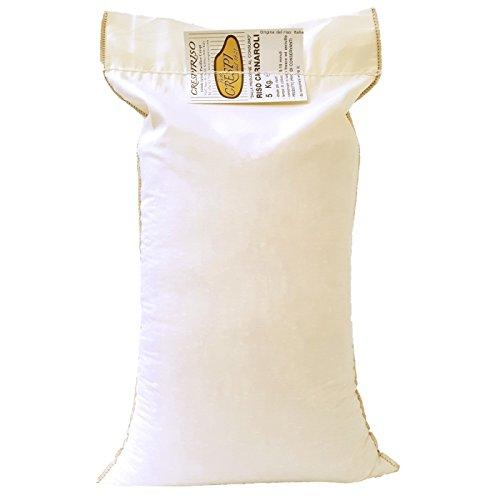Riso Carnaroli superfino 5kg confezione tradizionale in cotone