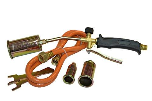 20KW Abflammgerät Unkrautvernichter Gasbrenner Dachbrenner 3 Düse Set (PAL-3-20Kw)