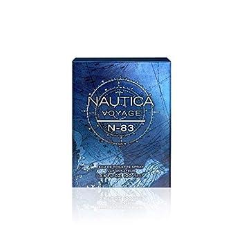 Nautica Voyage N-83 Eau de Toilette for Men 3.4 Fl Oz