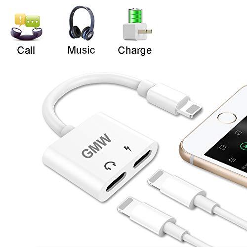 GMW Dongle Splitters iPhone Headphone, White