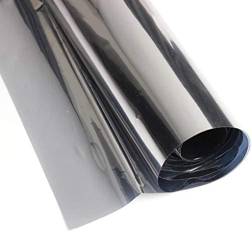 Yongse reflecterende raamfolie wegwerp spiegelfolie zonne-zilver 50cm x 2m