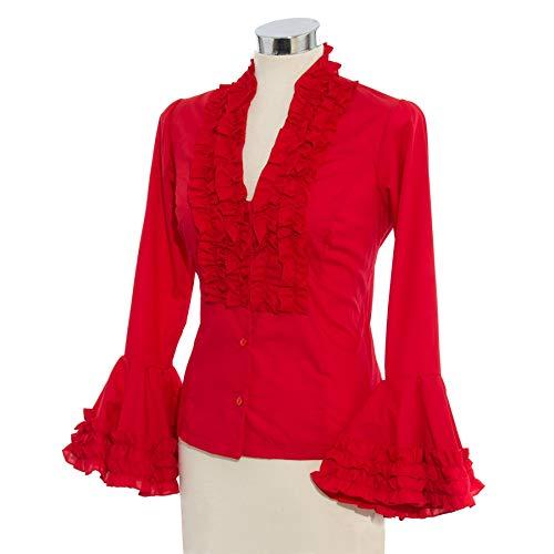 Camisa flamenca roja 💓