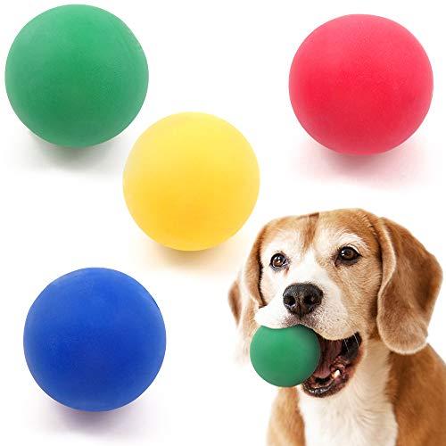 German Trendseller® 6X robuster Spiel - Ball┃ Hunde Spielzeug ┃schwimmfähig┃Flummi┃extra Sprungkraft ┃solides Gewicht