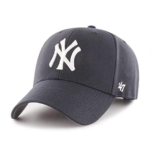 47 York Yankees MLB MVP Structured Cappellino Regolabile - Blu Marino