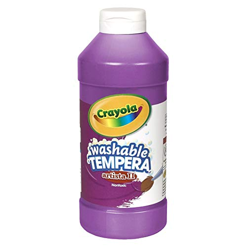 Crayola Artista II Washable Tempera Paint 16oz Purple/Violet