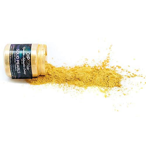 KandyDip Effektpigment Sunshine Gold Metal Pearl Perlglanz Metallic Farbpulver Pigment für Epoxidharz Autolack Sprühfolie Aquarell Seife Powder (25 Gramm)