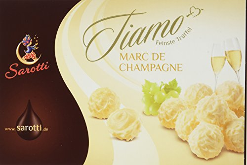 Sarotti Tiamo Trüffel Marc de Champagner, 5er Pack (5 x 125 g)