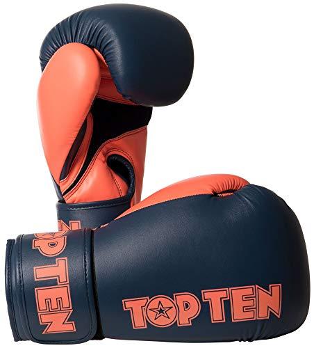TOP Ten Boxhandschuhe XLP blau/orange 14 Oz