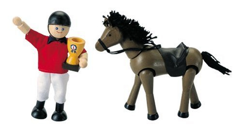 Affordable Plan Horse & Rider 73410 by PlanToys