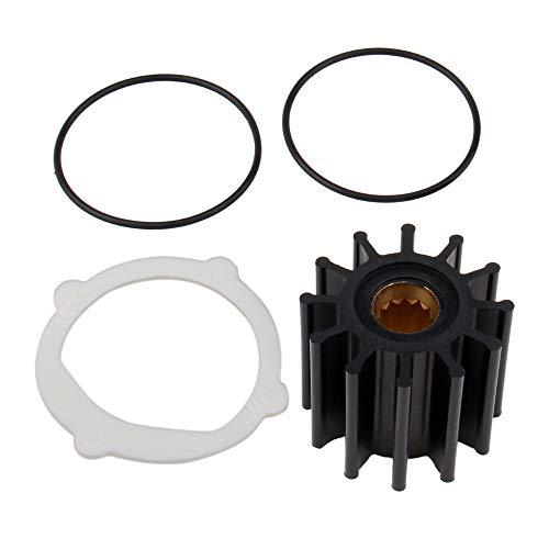 BIG AUTOPARTS Water Pump Impeller Raw Sea Impeller Repair Kit for for Johnson 09-812B-1 Yanmar 119773-42600 Sierra 18-3306 Indmar S685007