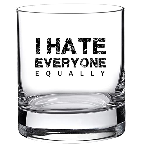 I Hate Everyone Equally - Best Funny Dad Gift for Him from Daughter,...
