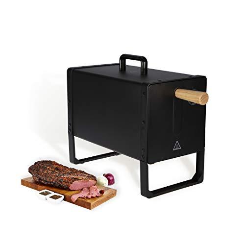 Meateor elektrischer Räucherofen, schwarz
